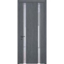 Фото  WakeWood Межкомнатная дверь Glass plus 01 дуб серый