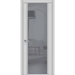 Фото  WakeWood Межкомнатная дверь Glass plus 03 RAL 7047