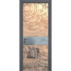 Фото  WakeWood Межкомнатная дверь Luxury 01 дуб серый