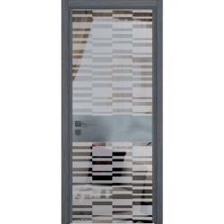 Фото  WakeWood Межкомнатная дверь Luxury 04 дуб серый