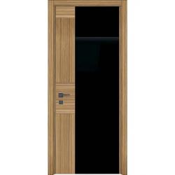 Фото  WakeWood Межкомнатная дверь Unica Set зебрано