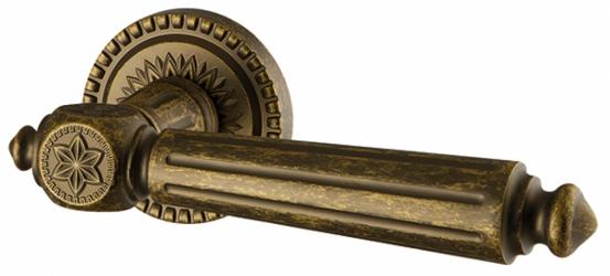 Фото Производитель Ручки ARMADILLO (Италия) Дверные ручки Matador античная бронза