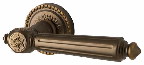 Фото  ARMADILLO (Италия) Дверные ручки Matador коричневая бронза