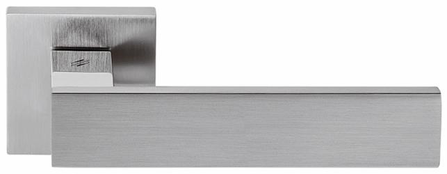 Фото Производитель Ручки COLOMBO (Италия) Дверные ручки модели Alba матовый хром/полированный хром