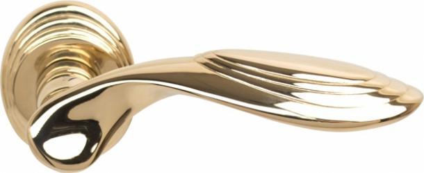 Фото Производитель Ручки COLOMBO (Италия) Дверные ручки модели Cameo полированное золото