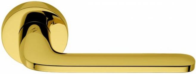 Фото Производитель Ручки COLOMBO (Италия) Дверные ручки модели Roboquattro полированное золото