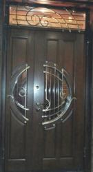 Фото  ДИМИР Входная дверь Классика ковка