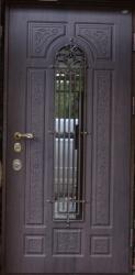Фото  ДИМИР Входная дверь Винорит ковка