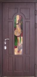 Фото Производитель ДИМИР Входная дверь Винорит витраж