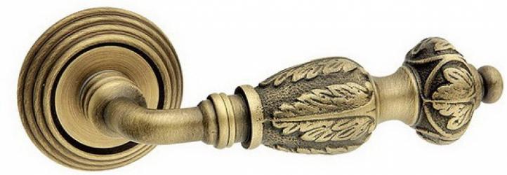 Фото  FIMET (Италия) Дверная ручка Regina 269 матовая бронза