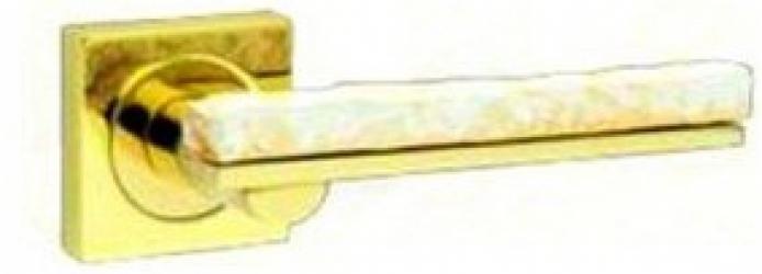 Фото Производитель Ручки FIMET (Италия) Дверная ручка Stone 211 полированное золото/мед
