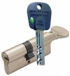Фото Производитель Mul-T-Lock (Мультилок) Цилиндр Mul-T-Lock Integrator корпус матовый никель 27*27-Т