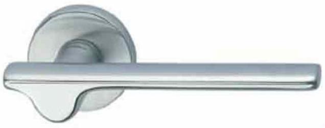 Фото Производитель Ручки MANDELLI (Италия) Ручка дверная Ara матовый хром