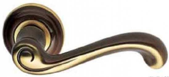 Фото Производитель Ручки MANDELLI (Италия) Ручка дверная Castiglia бронза