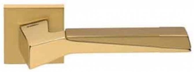 Фото Производитель Ручки MANDELLI (Италия) Ручка дверная Cubic матовое золото