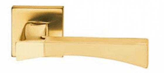 Фото Производитель Ручки MANDELLI (Италия) Ручка дверная Life матовое золото/полированное золото