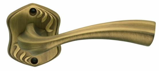 Фото Производитель Ручки MARTINELLI (Италия) Ручка дверная Appia матовая бронза