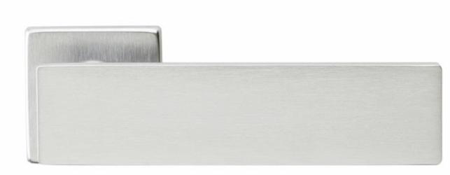 Фото Производитель Ручки MARTINELLI (Италия) Ручка дверная Arete/L 02 супер матовый хром