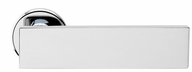 Фото Производитель Ручки MARTINELLI (Италия) Ручка дверная Arete/L полированный хром