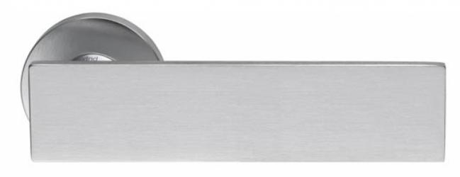 Фото Производитель Ручки MARTINELLI (Италия) Ручка дверная Arete/L супер матовый хром