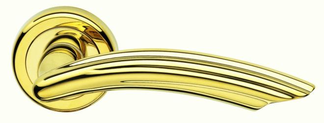 Фото Производитель Ручки MARTINELLI (Италия) Ручка дверная Beverly полированная латунь