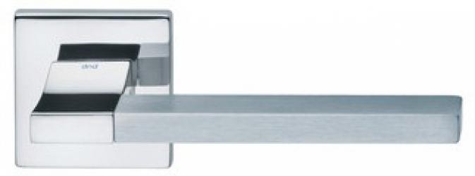 Фото Производитель Ручки MARTINELLI (Италия) Ручка дверная Change-B 02 полированный хром/супер матовый хром