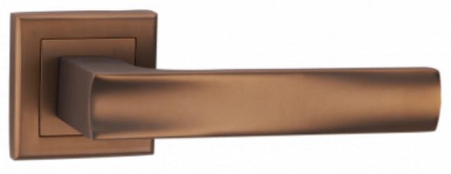 Фото  MVM (Китай) Дверные ручки модели Linde A-2010 матовая темная бронза