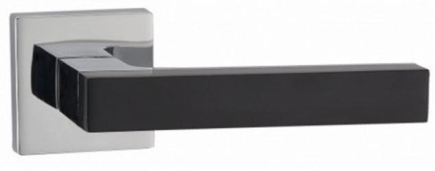 Фото Производитель Ручки MVM (Китай) Дверные ручки модели Z-1410 полированный хром/черный