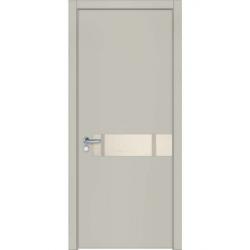Фото  WakeWood Межкомнатная дверь Quattro 08 RAL 7044