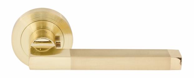 Фото  RDA (Китай) Ручки нажимные модели Giza матовое золото/полированное золото