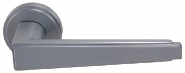 Фото Производитель Ручки SIBA (Турция) Ручки для дверей модели Luna матовый хром