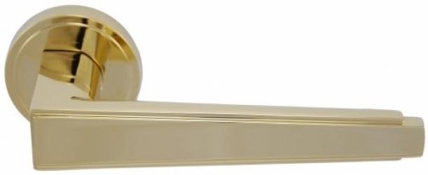 Фото Производитель Ручки SIBA (Турция) Ручки для дверей модели Luna полированное золото PVD