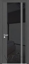 Фото  WakeWood Межкомнатная дверь Festa 01 венге серый