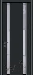 Фото Производитель Двери WakeWood (Вейквуд) Межкомнатная дверь Glass plus 01 RAL 8022